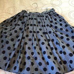 Polka Dot Skirt - ModCloth